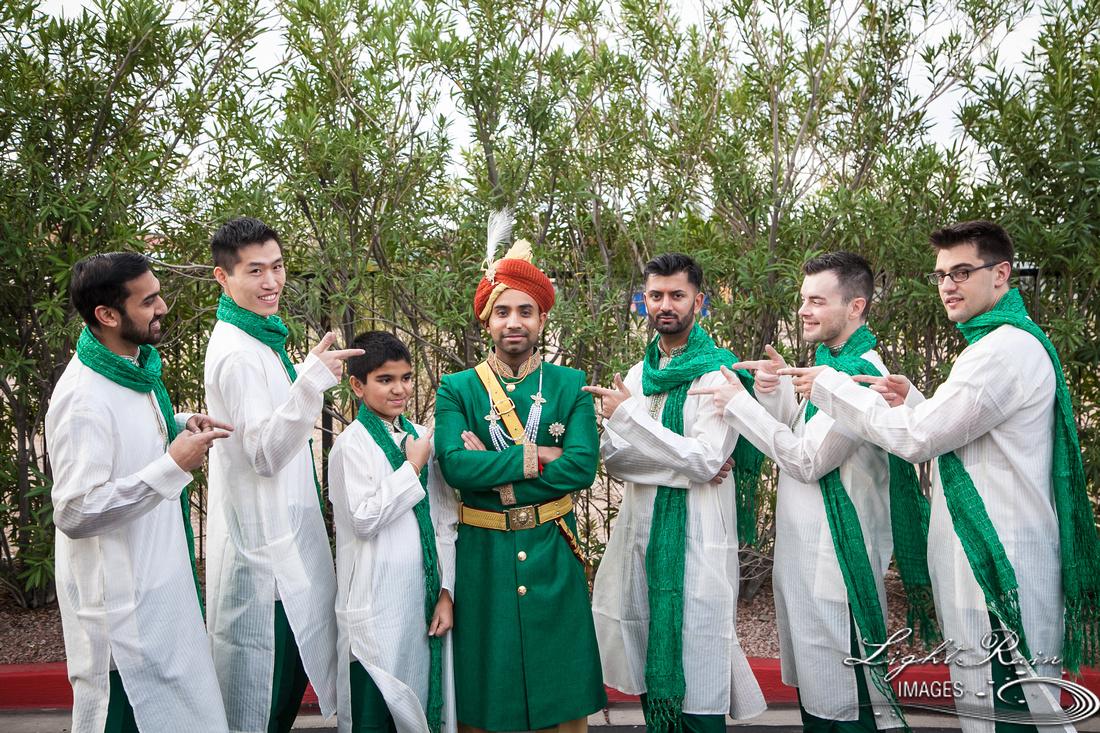 Hindu Groom Indian wedding