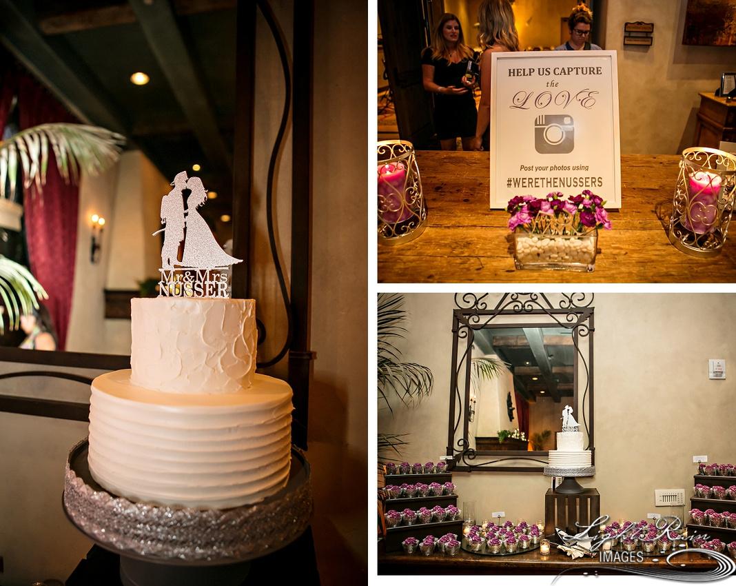 Wedding cake at Royal Palms