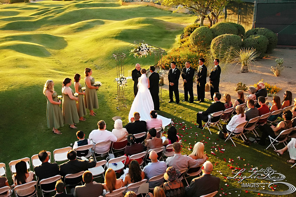 Red Mountain Ranch Wedding Ceremony