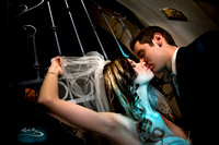 Soho 93, Chandler, Arizona, Romantic Bride and Groom Night shot